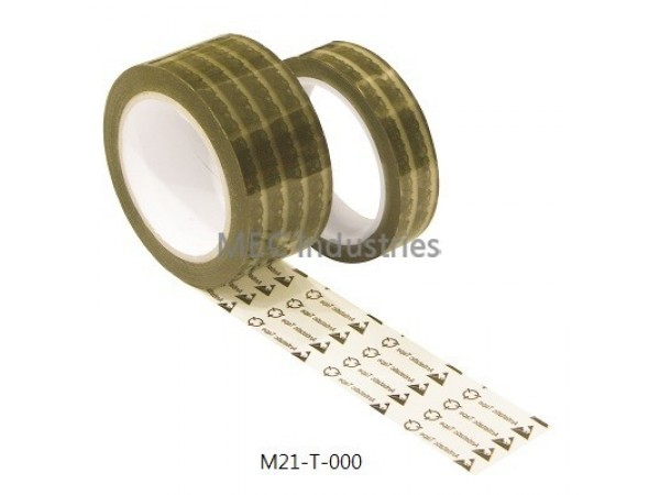 Antistatic OPP Tape with Printings model M21-T-000