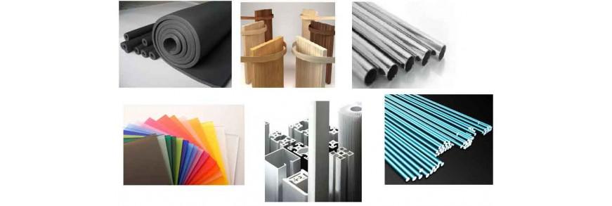 Vật liệu gia công: nhựa, mica, nhôm,...